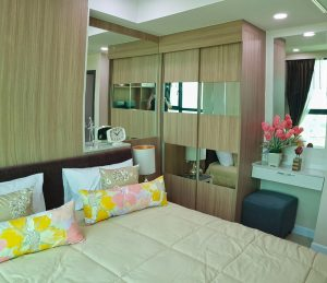 Dusit Grand Condo View bedroom 2