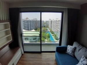 2-bedroom with pool view