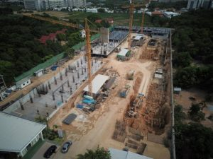 First floors are now above ground
